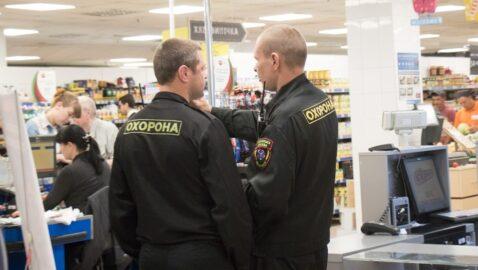 В Хмельницком охранник супермаркета разбил посетителю голову (видео)