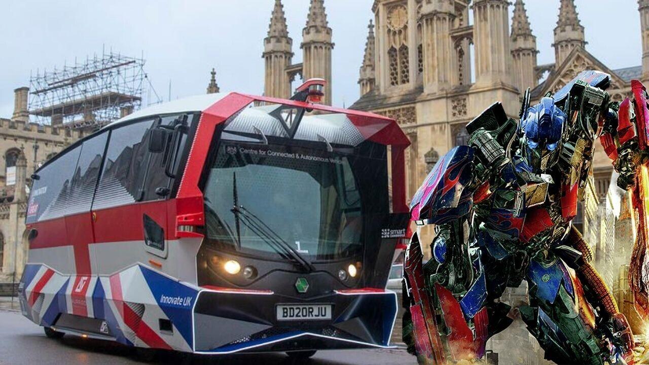 «Похож на злого Покемона»: британцы раскритиковали внешность беспилотного автобуса (фото) — СМИ