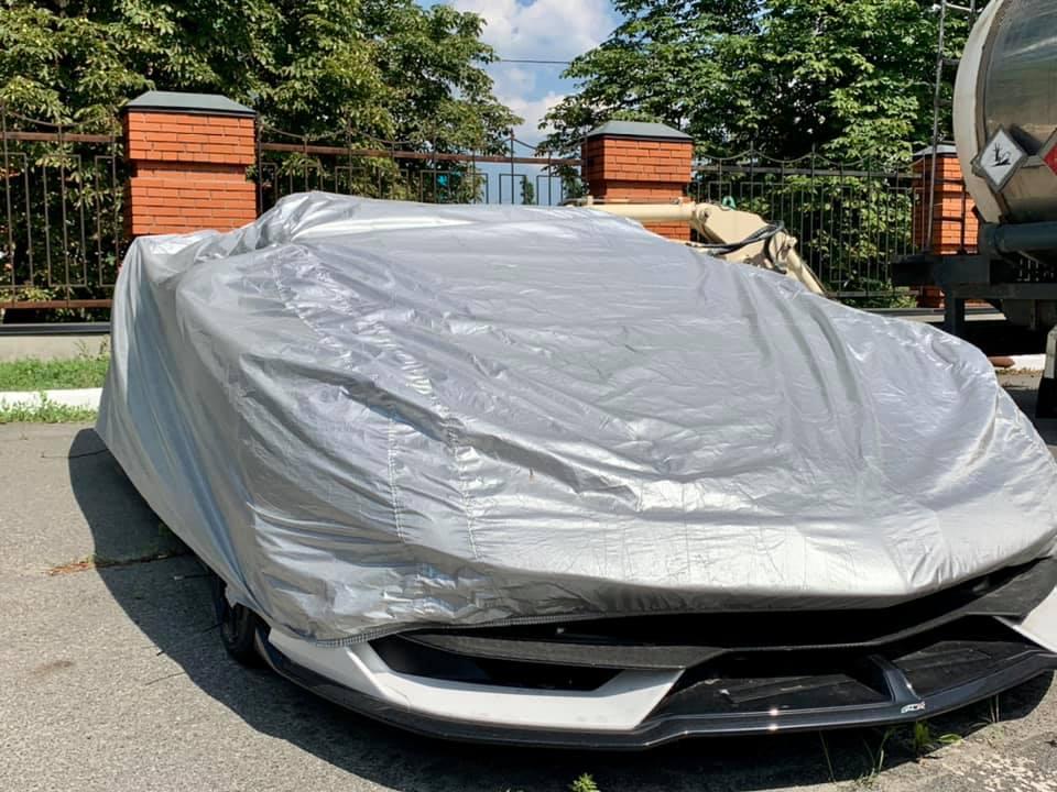 В Киеве оштрафовали на 170 тыс. грн владельца элитного Lamborghini (фото)