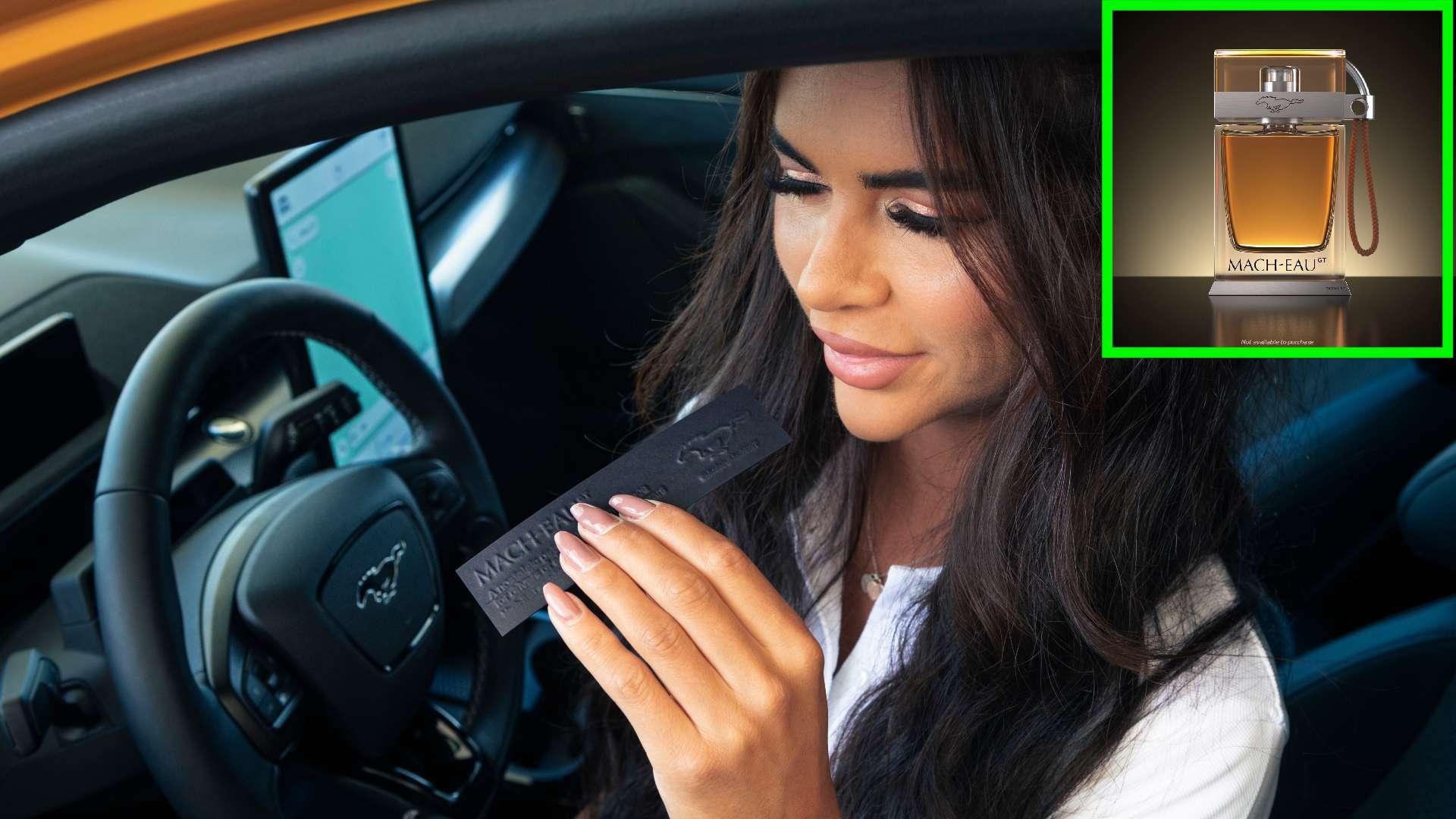 Ford запускает линию парфюма для владельцев электромобилей с ароматом бензина