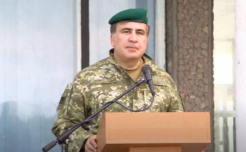Саакашвили рассказал о военном плане США по захвату Донецка