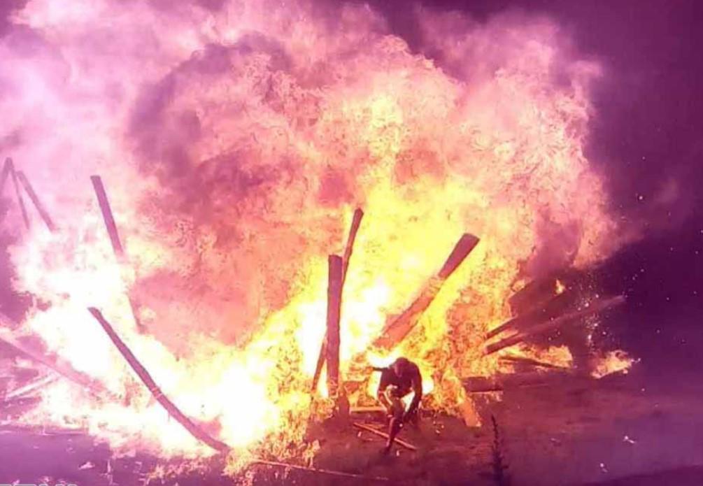 В Коростене произошел взрыв на праздновании Ивана Купала: есть пострадавшие (видео)