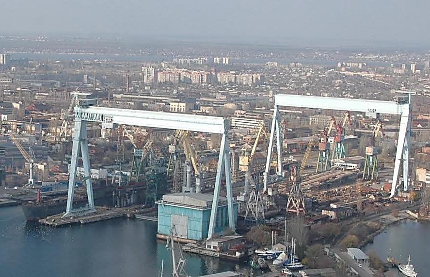 Ликвидирован один из старейших судостроительных заводов Украины