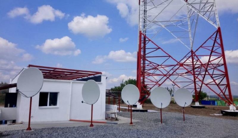 В Луганской области построили телебашню для вещания на неподконтрольные территории (фото)