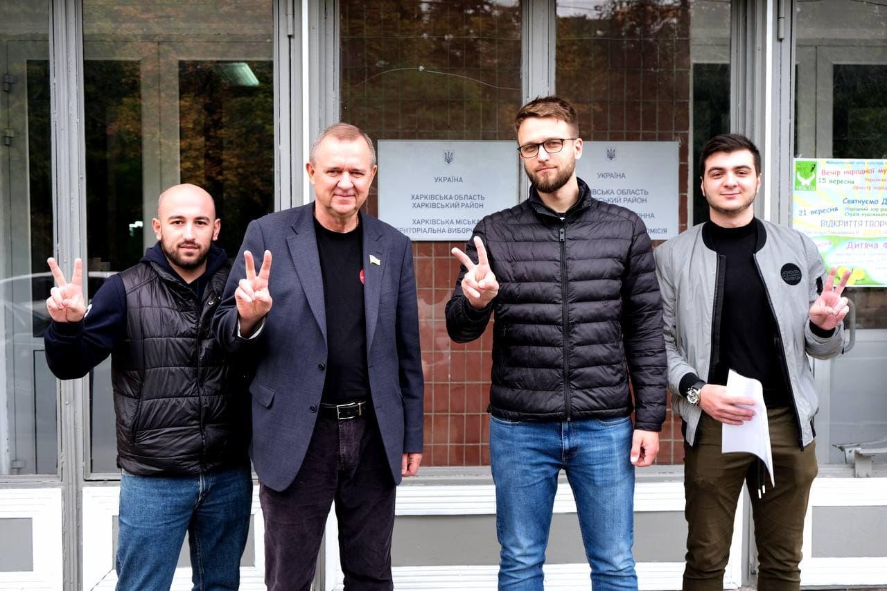 Харьковский избирком принял документы кандидата в мэры от ППШ Плетнева