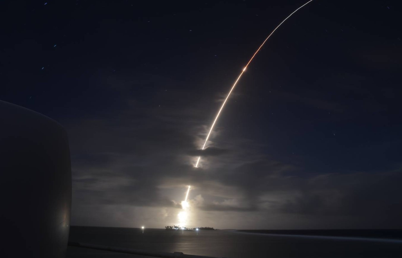 В США впервые испытали улучшенную ракету-перехватчик