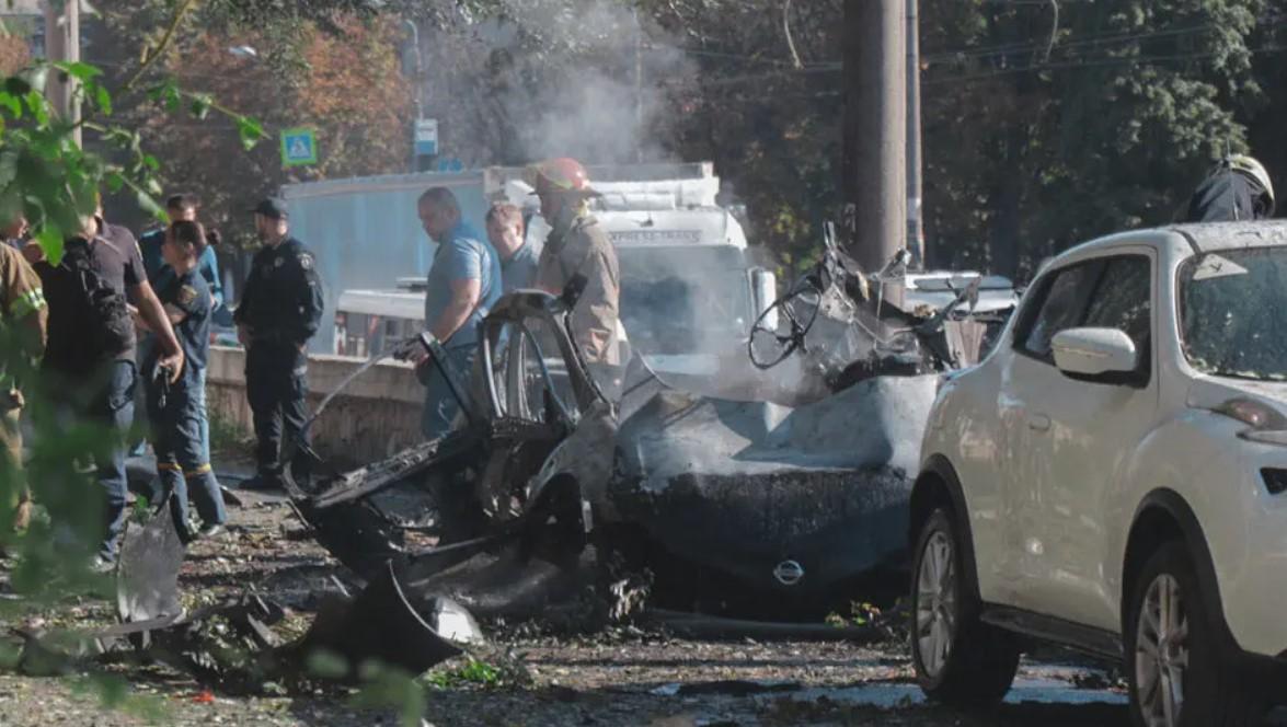 При взрыве авто в Днепре погиб участник АТО и член «Украинского легиона» — СМИ