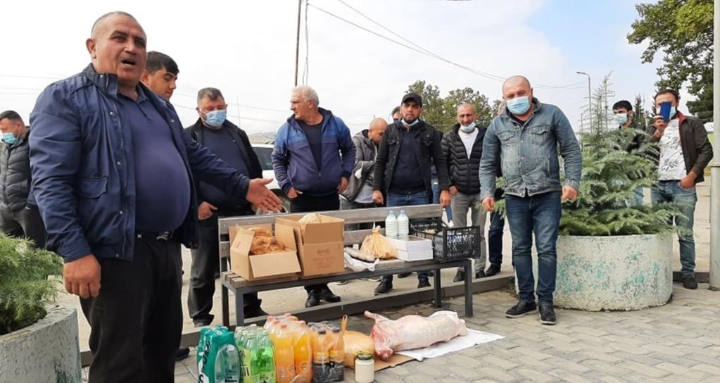 Жители грузинского села забили ягненка для Саакашвили