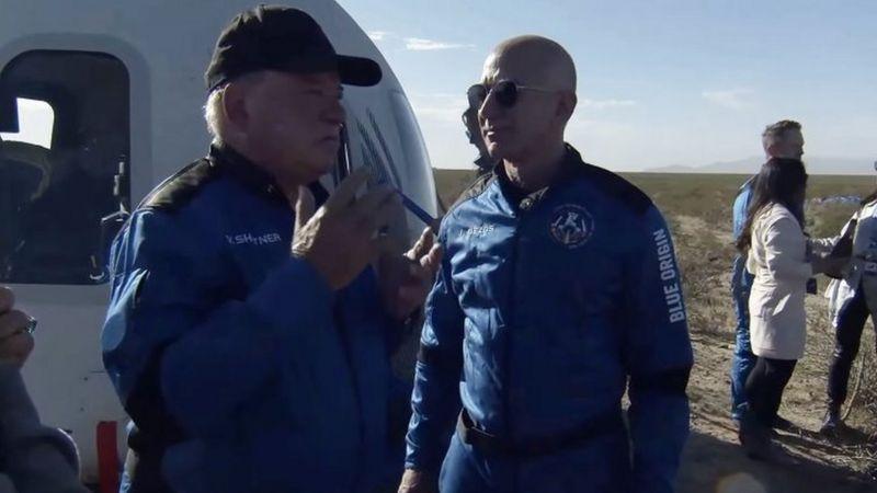 90-летний актер, который сыграл Кирка в Star Trek, отправился в космос (фото, видео) - 5 - изображение