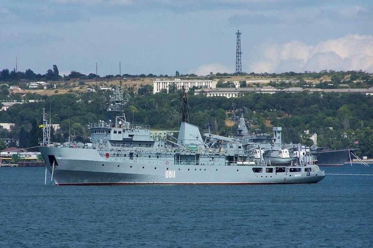В Черном море терпит бедствие корабль ВМФ «Балта» (фото)