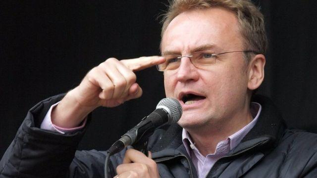 Мэр Львова оконфузился из-за невыключенного микрофона
