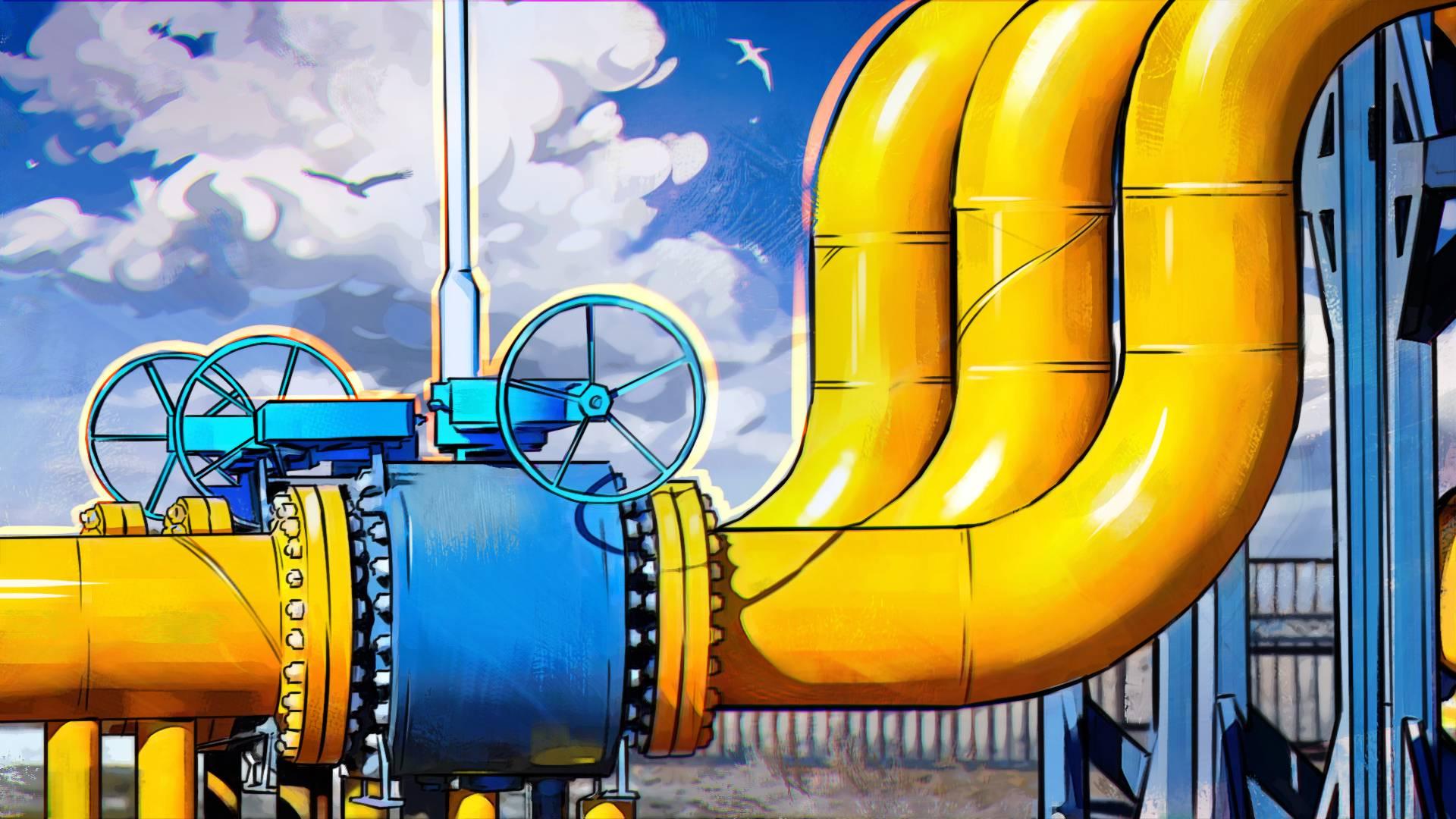 Запасы газа в украинских хранилищах на треть меньше прошлогодних