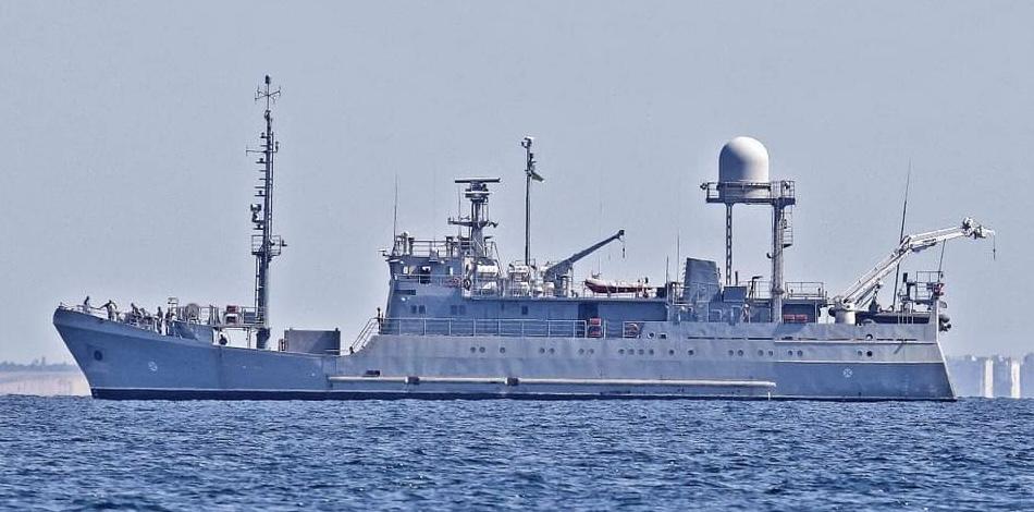 В Черном море терпит бедствие корабль ВМФ «Балта» (фото) - 1 - изображение