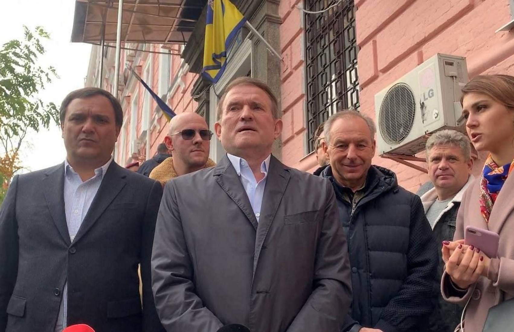 Суд отказал прокуратуре в аресте Медведчука