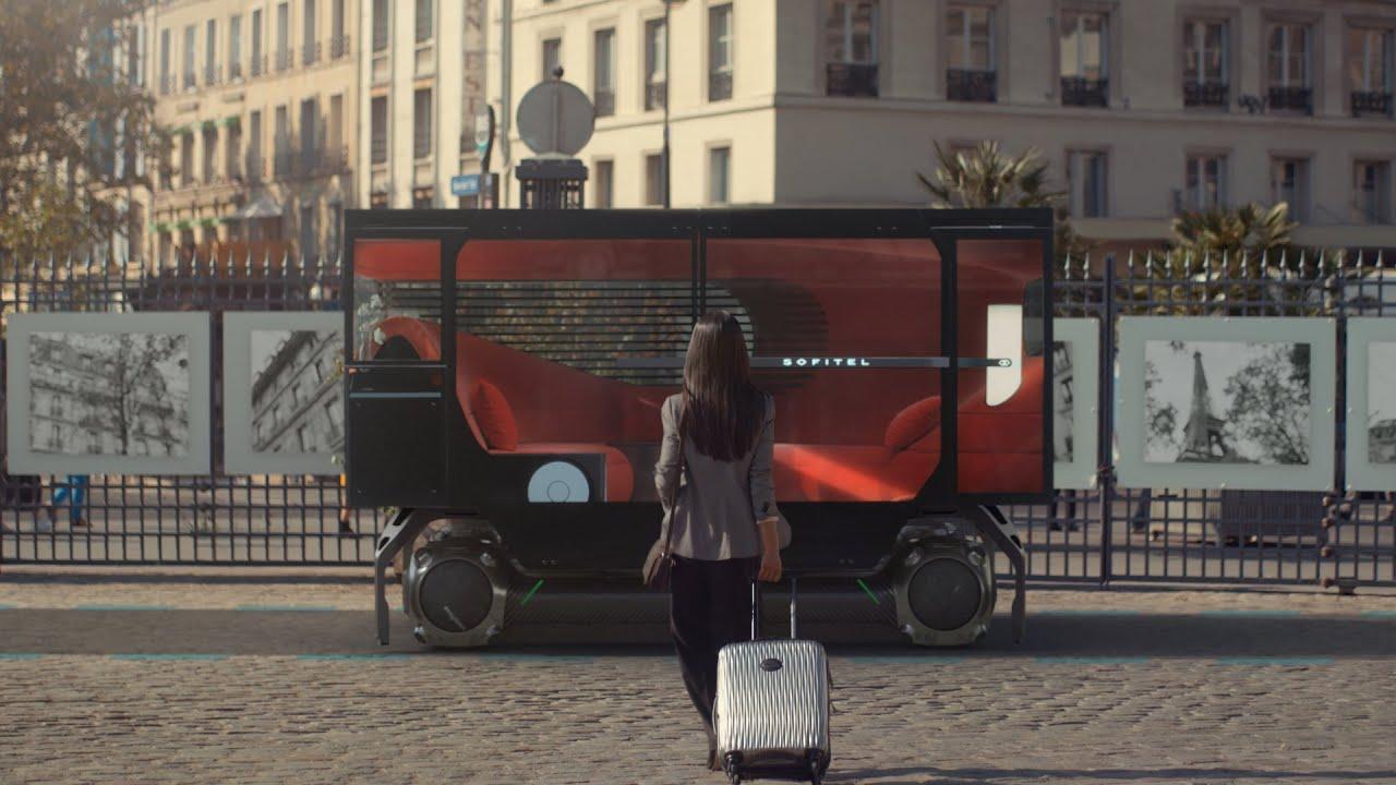 Отель, спортзал и такси: Citroën показал концепт беспилотного скейта для города (фото, видео)
