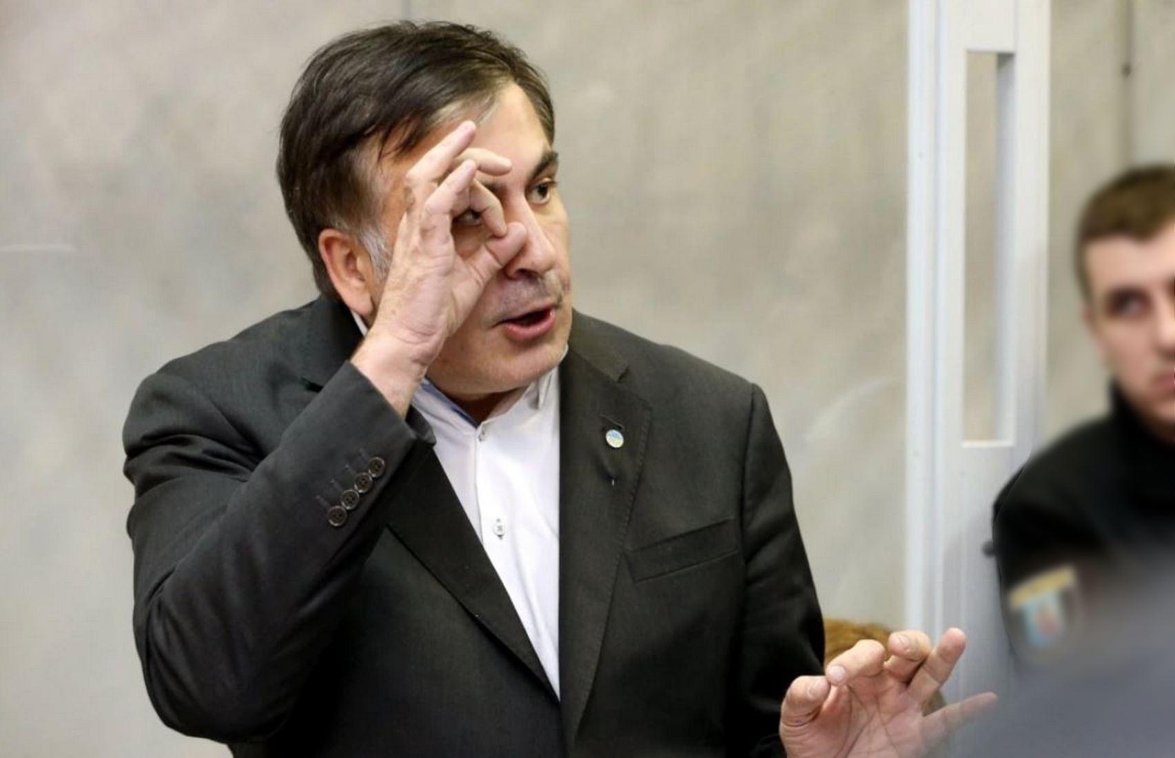 Саакашвили начал есть
