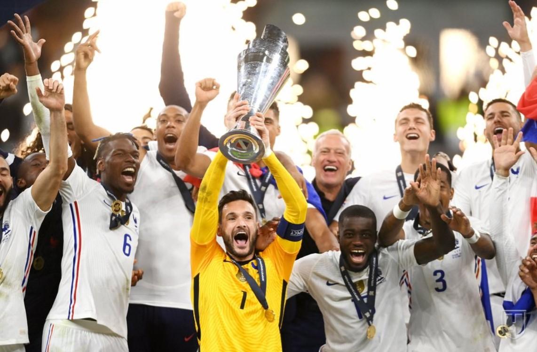 Франция обыграла Испанию и стала победителем Лиги наций (фото)