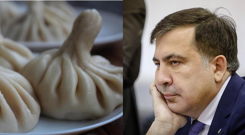 Саакашвили рассказал, что до ареста успел съесть всего одно хинкали