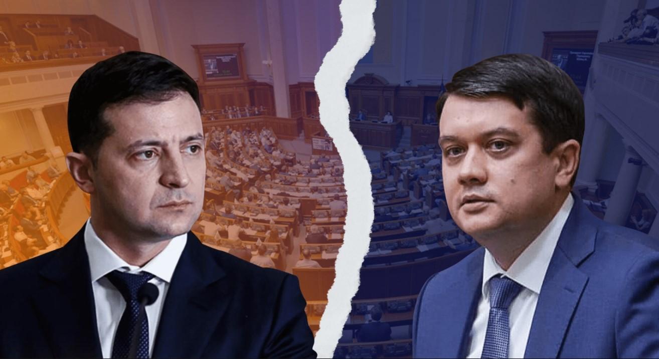 Зеленский вывел Разумкова из состава СНБО