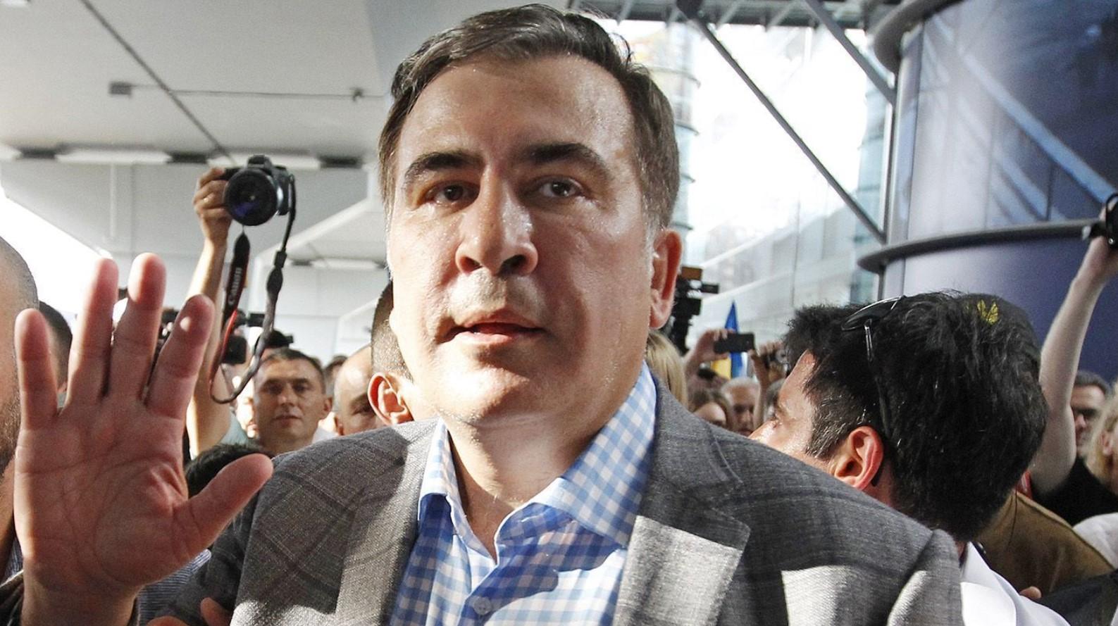 ГПСУ отстранила ряд пограничников из-за выезда Саакашвили из Украины