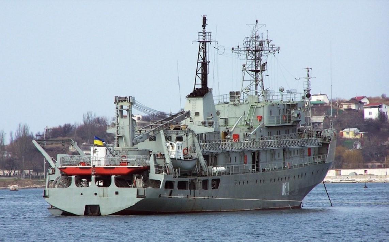 Появилось видео повреждений корабля «Балта» после крушения у острова Змеиный