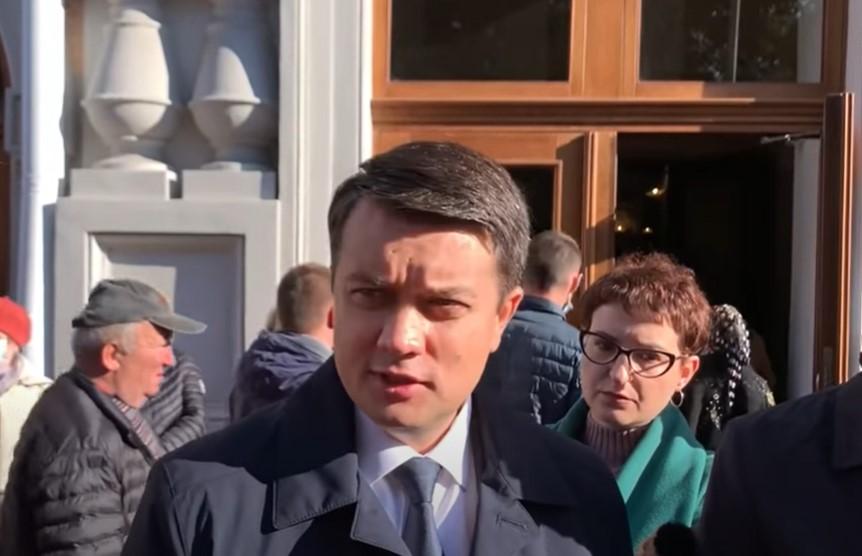 Разумков рассказал, как нужно наказать Третьякову за глумление над Поляковым (видео)