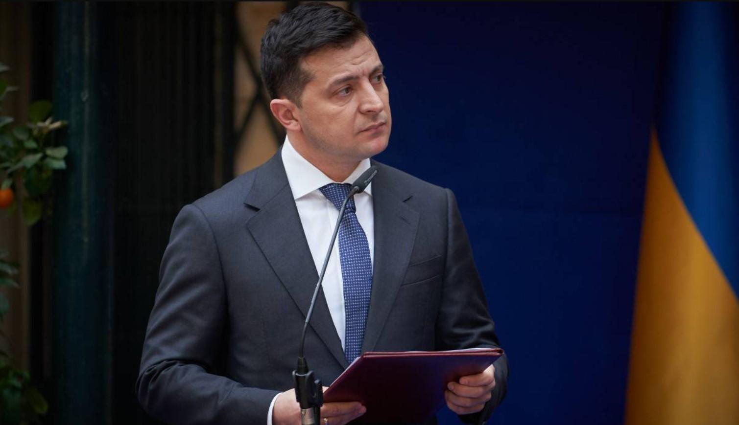Зеленский: Украина и ЕС считают Россию ответственной за отсутствие прогресса на Донбассе