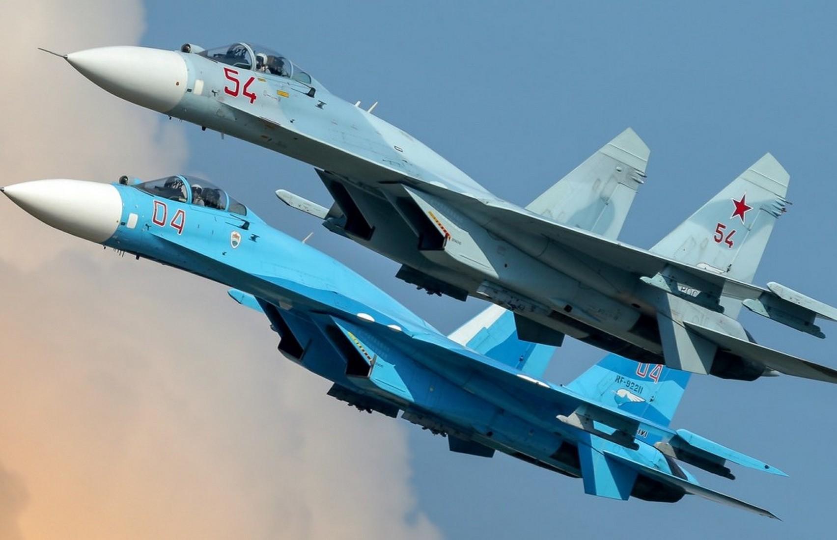 Американское издание назвало Су-27 одним из лучших истребителей в мире