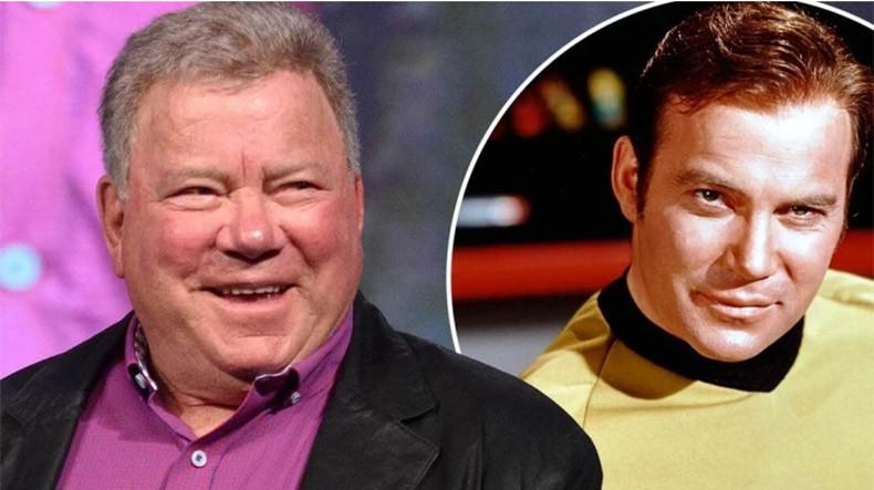 90-летний актер, который сыграл Кирка в Star Trek, отправился в космос (фото, видео)