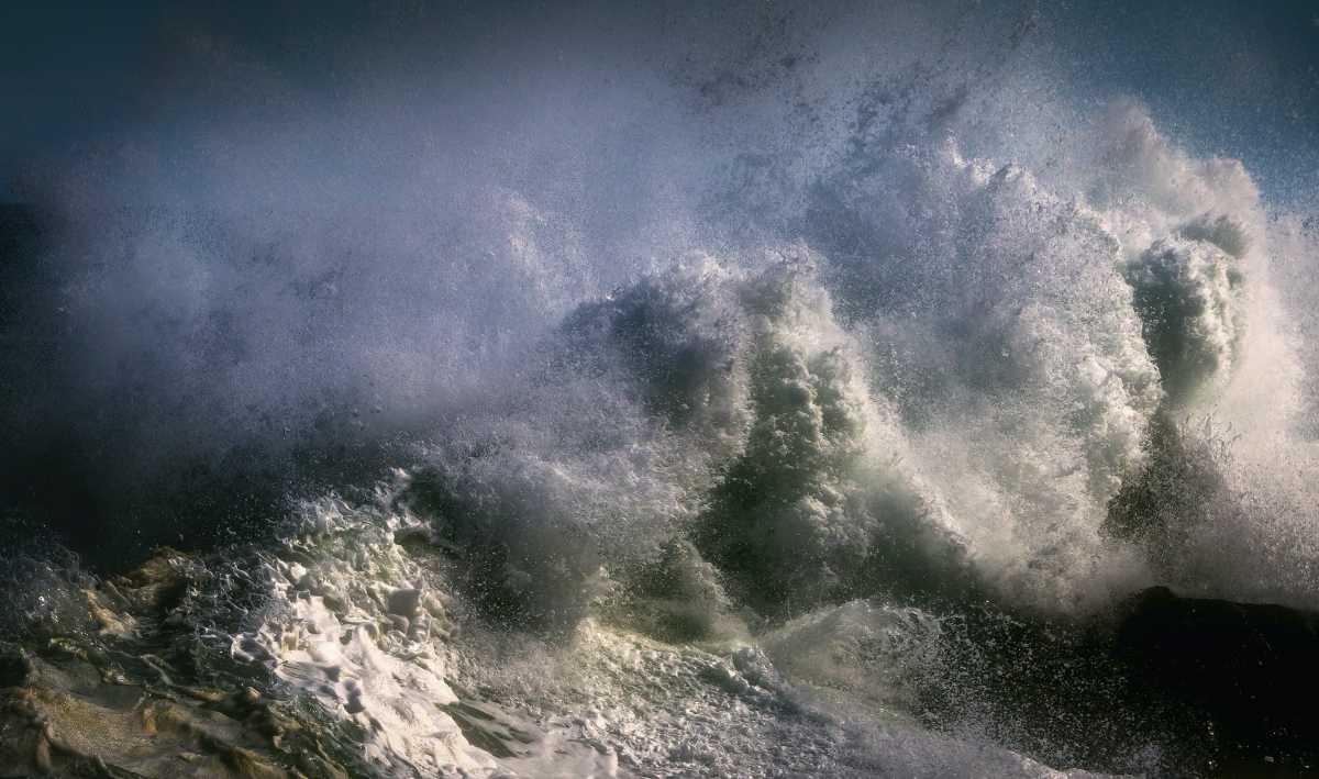 Американские ученые впервые сняли видео изнутри урагана, запустив туда БПЛА