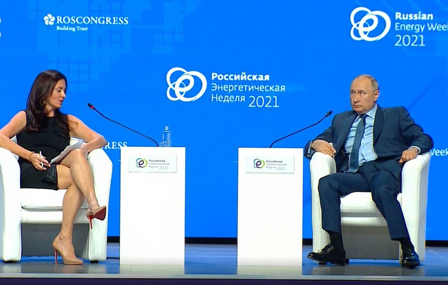 Американская ведущая опубликовала в соцсети фото с Путиным